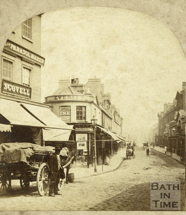 Pulteney Bridge from Bridge Street, Bath c.1870
