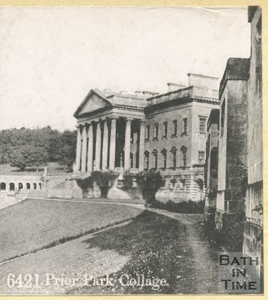 Prior Park College, Widcombe, Bath c.1880