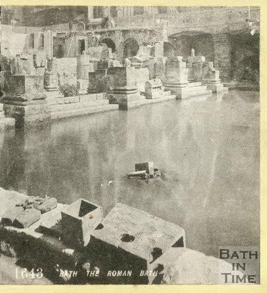 The Roman Great Bath, c.1870