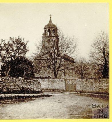 Woolley Church, near Bath, April 1874
