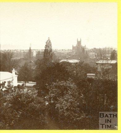 View of Bath from Bathwick Terrace, Bath 1874