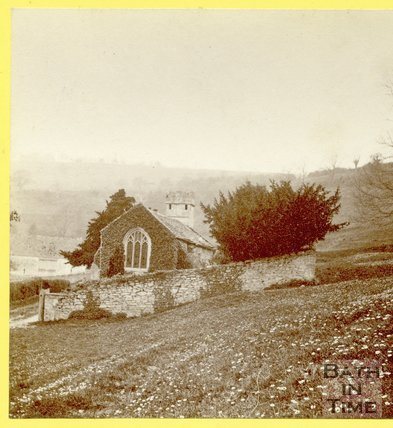 Charlcombe Church, near Bath, April 1874