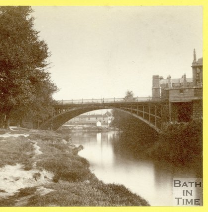 North Parade Bridge, Bath 1874