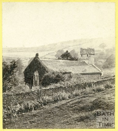 Charlcombe Church, near Bath, c.1865