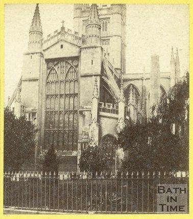 Bath Abbey from Orange Grove, Bath c.1863