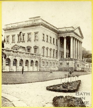 Prior Park Mansion, Widcombe, Bath 1863