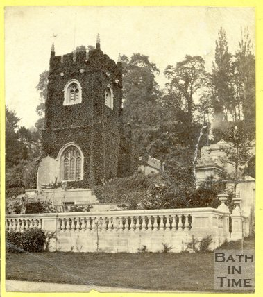 The old church at Widcombe, Bath 1863