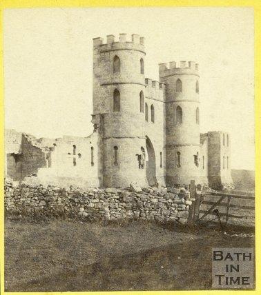Sham Castle, Bath 1863