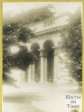 The pavilion in the botanical gardens, Royal Victoria Park, Bath c.1930