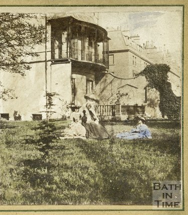 Harley House, Rivers Street, Bath c.1860