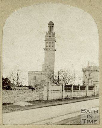 Lansdown (Beckford's) Tower, Lansdown, Bath c.1860