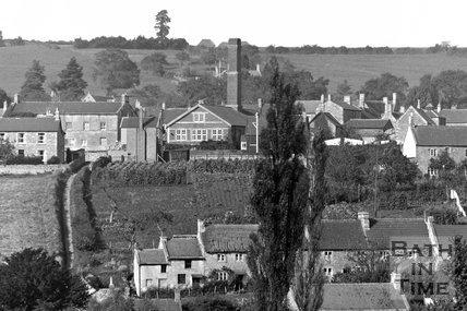 Wellow village view No.12 detail c.1950s