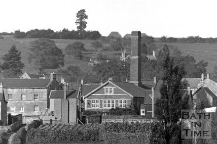 Wellow village view No.12 detail c.1950s