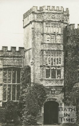 Gateway to Forde Abbey, Dorset, c.1935