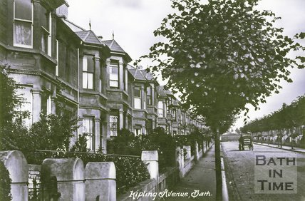 Kipling Avenue, Bear Flat, Bath, 1905
