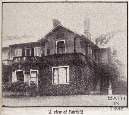 Haile Selassie's home at Fairfield House, Bath, September 1936