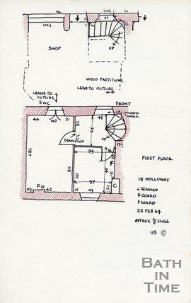 Holloway, Bath, 23 Feb 1964