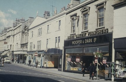Southgate Street, Bath , east side, south end June 1971