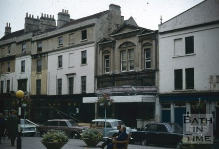 Southgate Street, Bath , demolition Oct 1971