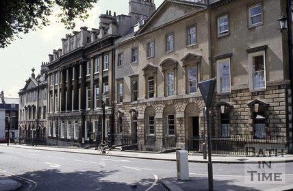 Queen Square, west side, Bath, c.1960s