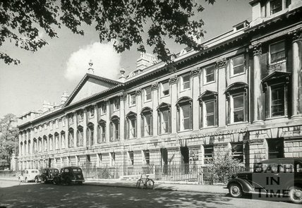 Queen Square, north side, Bath, c.1946