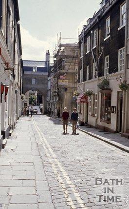 Queen Street, Bath looking south, c.1970s