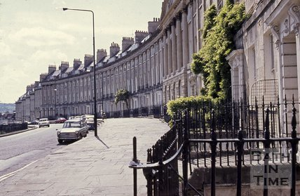 Camden Crescent looking south west, c.1970s