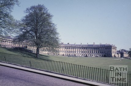 Royal Crescent, Bath, c.1970s