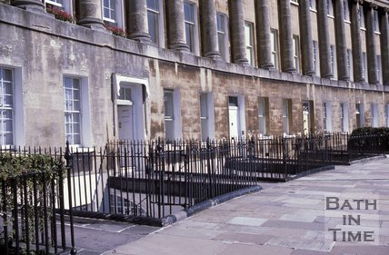 Royal Crescent, Bath, c.1970s