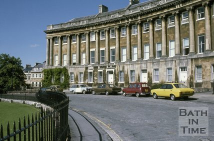 Royal Crescent, Bath, c.1980