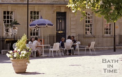 Kingsmead Square, Bath, c.1980