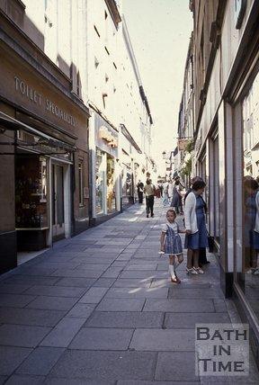 Union Passage, looking north, Bath, c.1980s
