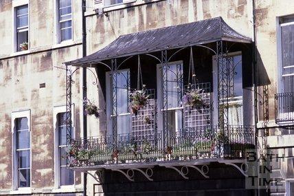 Marlborough Buildings, Bath, 1978