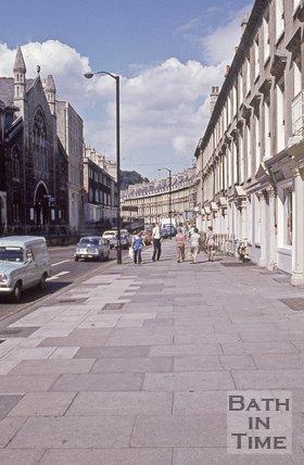 Bladud's Buildings, Hay Hill and Paragon, Bath, c.1970s