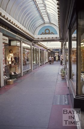 The Corridor, Bath looking west, c.1970s