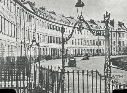Lansdown Crescent, Bath, c.1930s