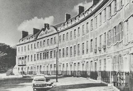Somerset Place, Bath, c.1960s