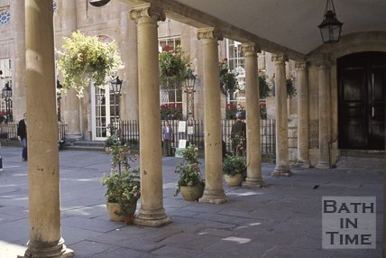 Entrance to Abbey Church Yard from Stall Street, Bath, c.1990s?