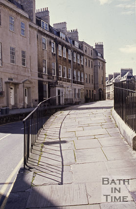 High pavement at Montpelier, Julian Road, Bath, c.1980s