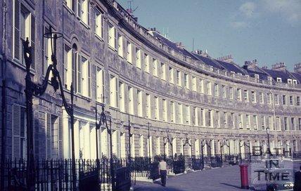 Lansdown Crescent, Bath, c.1960s