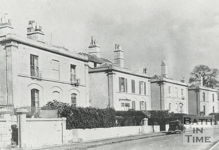 Claremont Place, Camden Road, Bath, c.1940s