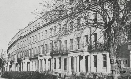 Lansdown Crescent, Cheltenham, c.1940s