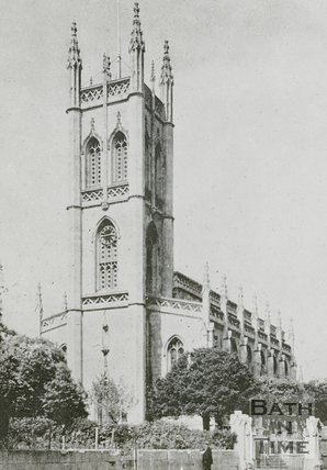 St Saviours Church, Larkhall, Bath, c.1930s