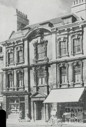 Rosewell House, Kingsmead Square, Bath, c.1940s?