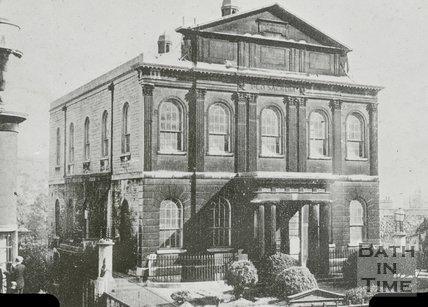Wesleyan Chapel, Walcot Street, Bath, c.1910