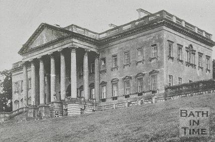 Prior Park, north front, Bath, c.1950s