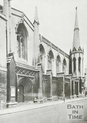 Holy Trinity Church, James Street West, Bath, c.1930s
