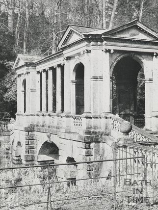 The Palladian Bridge, Prior Park, Bath, c.1930s?