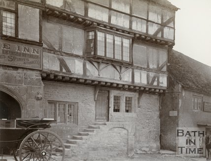 The George Inn, Norton St. Philip, near Bath, c.1901