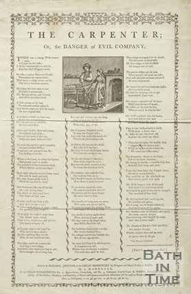 The Carpenter; Or the Danger of Evil Company, 1795